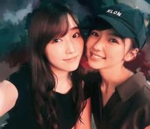『【モーニング娘。'18】譜久村聖と真野恵里菜が二人で遊んだぞ!!!!!』の画像