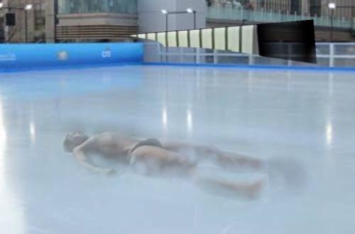 【悲報】野獣先輩、スケートリンクになるのサムネイル画像