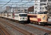 『2013/11/22運転 485系新潟車内原展示回送』の画像