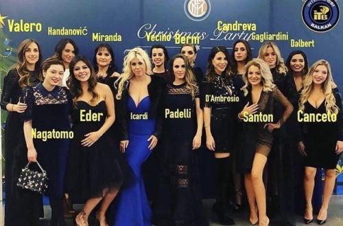 【画像あり】インテルミラノの選手たちの嫁が美人すぎて、平愛梨公開処刑やんけ・・・・のサムネイル画像