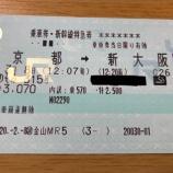 『東海道新幹線700系LASTRUN運休が決定』の画像