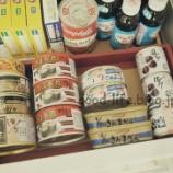『缶詰はどうしまう? 防災備蓄の話も少し』の画像