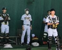 【阪神】矢野監督が2軍集合練習視察「及川が一番いい球」