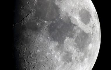 『月齢8.7のお月様』の画像