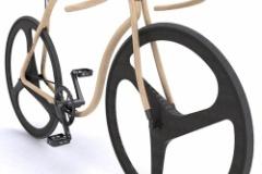 【画像】木製自転車が登場! 値段は560万円(°Д°)