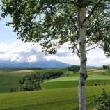 『【北海道ひとり旅】富良野・美瑛の旅『瑠辺蘂(ルベシベ)の丘』余り知られていない美瑛の穴場スポット』の画像