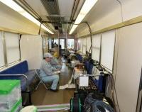 『鉄道総合技術研究所 燃料電池ハイブリッド電車 R291系 報道公開』の画像