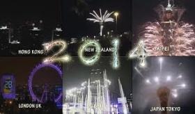 【元旦】  日本の 東京スカイタワーを含めた 世界各国の 新年の花火の様子を 早送りで見ようぜ。   【海外の反応】