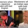 「西洋人が日本人とインド人の英語を聞いた時の反応の違い」海外の反応