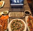 米俳優ドウェイン・ジョンソンが寿司100貫爆食い