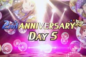 【ミリシタ】2nd ANNIVERSARY DAY5!本日は朋花、昴、伊織、百合子!