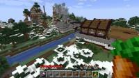木製校舎学校までの道を作る