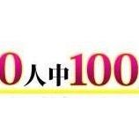 『100人中100人から選ばれる方法』の画像