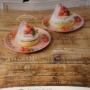 【東京 恵比寿】 カフェ アクイーユ accueil さくらんぼレアチーズパンケーキ
