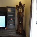 『イタリア製のホールクロックと和家具の納品』の画像