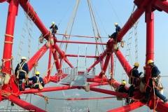 【動画】世界最大で最大電力・最新技術の電力鉄塔が中国に誕生! 年間5000億kWh以上を送電予定