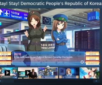 北朝鮮を観光するギャルゲーがリリース…主人公はトランプで平和になった北朝鮮が舞台
