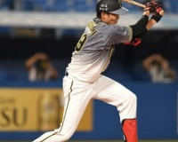 阪神が38イニングぶりに得点!1死満塁から藤浪の適時内野安打!二回に4点!!