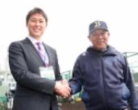 新井貴浩さん、スポニチにぼやけた写真を使われる