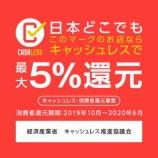 『キャッシュレス・消費者ポイント還元対応!【5%!】【加盟店登録済】【ネットショップ】』の画像