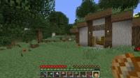 西大陸に草屋根の家を作る