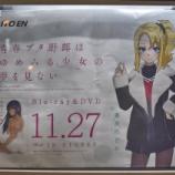 『【青ブタ円盤広告自販機】豊浜まどか@(高松道)豊浜SA』の画像