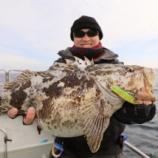 『1月12日 釣果 スロー、ライトジギング 170匹超 高活性』の画像