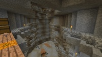 ピラミッド区の峡谷を拡張 (2)