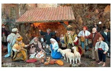 『クリスマスまであと少し。クリスマスは天と地をつなぎました。』の画像