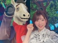 【日向坂46】富田ブログ、あのお馬さんとツーショットwwwwwwwwww