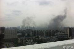 中国の原子力施設で火災