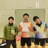 『◇仙台卓球センタークラブ◇ 第77回仙台市個人卓球選手権大会 結果』の画像