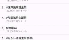 【乃木坂46】与田祐希生誕祭のツイートが凄い数!でも、それを上回る人物が・・・