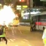 【動画】香港警察、記者に向かって催涙弾を投げる!女性記者の頭上で催涙弾が爆発 [海外]