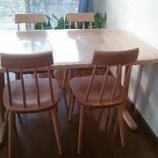 『仲多度郡に飛騨産業のVONGOLEのテーブルとTUGUMIの椅子を納品』の画像