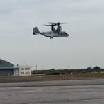 【動画】陸上自衛隊公式、「オスプレイ」が、試験飛行(ホバリング)を実施しました。
