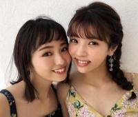 【欅坂46】「ar」7月号に今泉佑唯と小林由依で「仲良しヘア」企画!コレは可愛い!