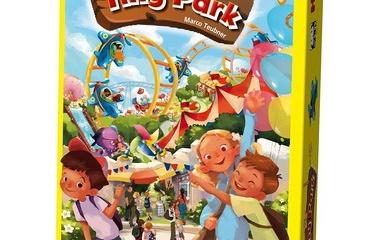 『レビュー9:ダイスを振って自分だけの遊園地を造る、タイニーパーク(Tiny Park)』の画像