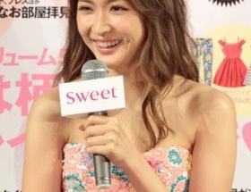 紗栄子、表紙に起用の理由は「やわらかそうな胸」