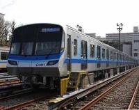 『横浜地下鉄ブルーラインに新型車3000V登場』の画像