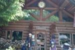 ハイキングでお弁当もいいけど、『ログハウスレストラン』でランチもおススメ!私市駅から歩いてほしだ園地に行っておじいさんの古時計へ~
