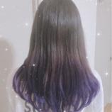 『[イコラブ] 佐竹のん乃「髪色(紫ーー!!!!)」』の画像