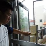 『【ながさき】スクイジーを使って窓ふき』の画像