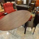『人気昇降テーブルのSPIGAのCOZYダイニングテーブルが入荷』の画像