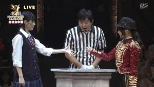 第4回AKB48じゃんけん大会、松井珠理奈が優勝するもパーだけで勝ち続け八百長ではないか?と地下板大荒れ