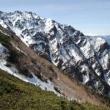 『GW山行:長く、大きい…残雪の仙丈ヶ岳地蔵尾根。』の画像