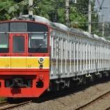 『さよなら12連!!203系常磐線マト52編成、恒久10連化か』の画像