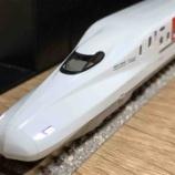 『TOMIX N700系8000番台R10編成(祝!九州タイプ)入線』の画像