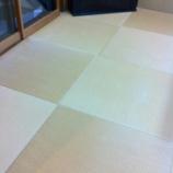 『帝塚山にお住いのお客様宅の本物の琉球畳の表替え〜』の画像