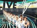 CDTVのAKB48さん、ソーシャルディスタンスを完全に無視するwwwww(画像あり)